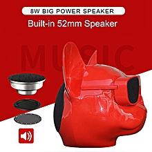 Unique Design Personalized Wireless Bulldog Speaker Perfect Sound Stylish Decoration Portable BT Stereo-speaker