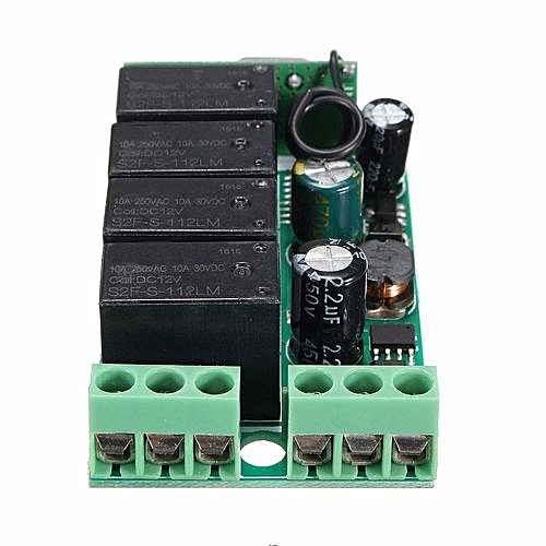 2220 4ch Channel Wireless Remote Control Relay Switch 433MHZ