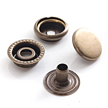 Snap Fasteners Buttons (Bronze)