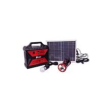 AF1207 - Solar Generator- Black & Red