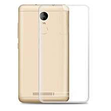 0.3mm Clear Rubber Soft TPU Cover Case For Xiaomi Redmi Hongmi Note 3-Clear