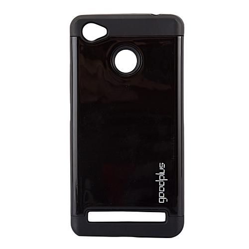 Techno W5 Back Cover- Armor case Black