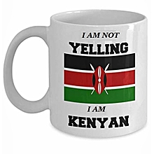 Kenyan Flag Coffee Mug - 1 Piece - Multicoloured