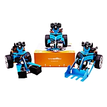 Yahboom HelloBot Programmable Smart Robot Support Micro:bit/STEM  with Lift Pack/Clip Pack Version Basic+Set 1