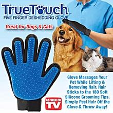 New True Touch Glove Pet Dog Cat Grooming Deshedding Hair Remover Fur/Penggosok Bulu Kucing ( Right )