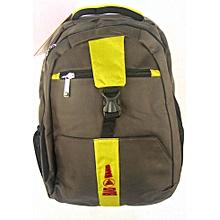 Laptop Backpack – Khaki Green