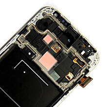 Lcd Screen With Frame Touch Screen Lcd Display Complete Screen Assembly Replacement Parts Red For Samsung Galaxy I9505
