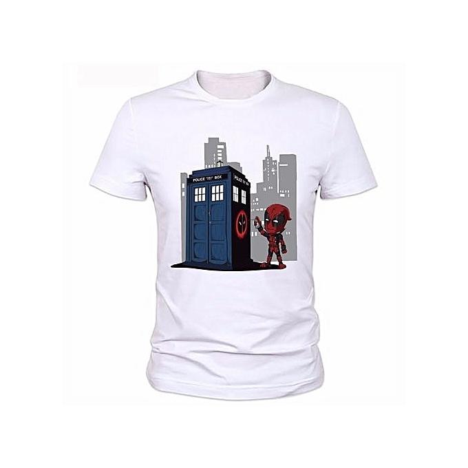 Generic New Men Funny Superhero Printed T Shirts Design Canada