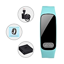 """R11 - 0.96"""" Smart Bracelet 80mAh Pedometer For Android/IOS - Green"""