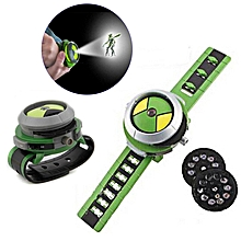 Kids Projector Watch Toys Christmas Gifts For Ben 10-