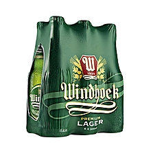Lager Beer 6 Bottles - 500ml