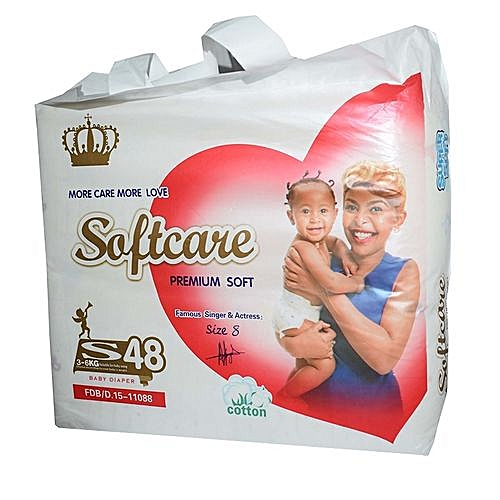 a61c123f5 Softcare Premium Diapers Small (3-6 Kgs), Count 48 @ Best Price ...