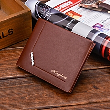 Men's Wallet Solid Soft Large Capacity Multi-function Casual Wallet