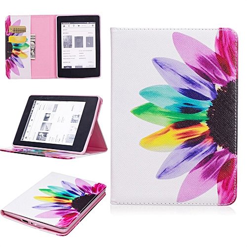 Stand Painted Leather Case Cover For Amazon Kindle Paperwhite 1-2-3 6Inch