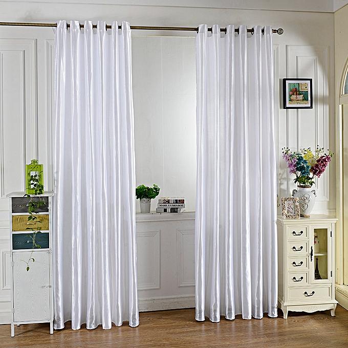 Kitchen Curtains In Kenya: Buy Generic Grommet Ring Top Blackout Window Curtain