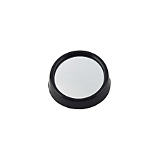 Car Vehicle Driver Wide Angle Round Convex Mirror Blind Spot Auto RearView - Black