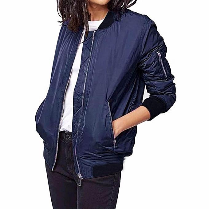 Buy Zanzea Zanzea Winter Parkas Bomber Jacket Women Cool Slim Zipper