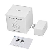 Meross Alexa Wi-Fi Smart Plug Socket Switch Wireless Wi-Fi Control US Plug-White