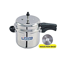 Aluminium Outerlid Pressure Cooker, 7.5 Litre,Induction Base .