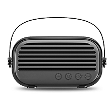 NR - 3000 Portable Wireless Bluetooth Stereo Speaker Mini Player-BLACK