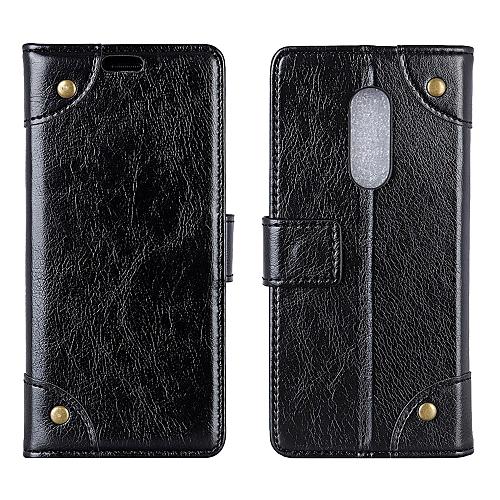meet 2b5fc 37f09 Nokia 5.1 Plus Case,Flexible Premium PU Leather Flip Case Protective Cover  for Nokia 5.1 Plus (Nokia X5) 5.86