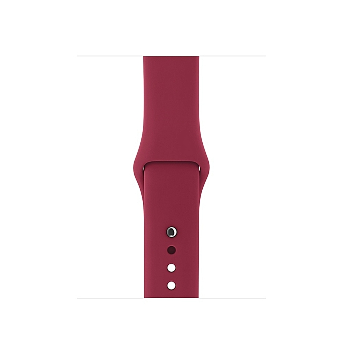 87071c6beb6176 ... For Apple Watch Series 3 & 2 & 1 38mm Fashion Simple Style Silicone  Wrist Watch