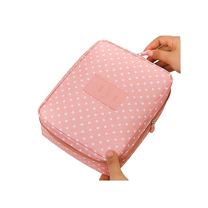 912ad1722a6a Fohting Women Makeup Bag Cosmetic Bag Case Make Up Organizer Toiletry  Storage Bag -F