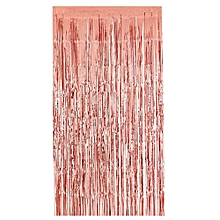 Rose Gold Door Curtain Fringe Garlands All Colours And Packs Foil Curtains 2m*1m