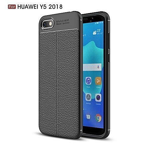purchase cheap 00957 dddbf Huawei Y5 (2018) Phone Back Cover, Case - Black.