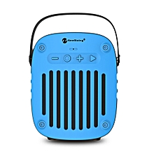 NR - 4014 Portable Wireless Bluetooth Stereo Speaker Mini Player-BLUE