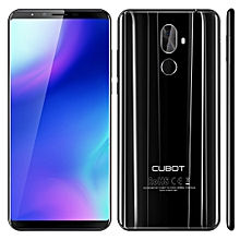 CUBOT X18 Plus, 4GB+64GB, Dual Back Cameras, Fingerprint Identification, 4000mAh Battery, 5.99 inch Android 8.0 MTK6750T Octa-Core up to 1.5GHz, Network: 4G, Dual SIM(Black)