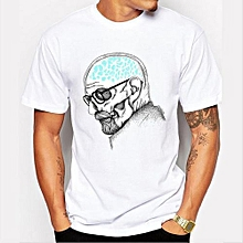 Refined Men's Fashion Art Design Heisenberg Printing T-shirt Refined Breaking Bad Tee Shirts Hipster Cool Tops-Color 1