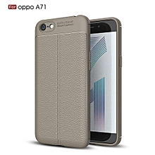 PU Leather Litchi Pattern Case For Oppo A71 Soft TPU Silicone Back Cover For Oppo A 71 Case Cover