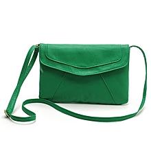 bluerdream-Womens Envelope Satchel Cross Body Shoulder Bags Vintage Handbags-Green