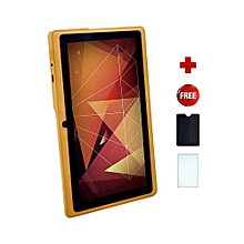Q75S Tablet - 7 inch, 8GB, 512MB RAM, WiFi, Gold + Free screen protector + pounch