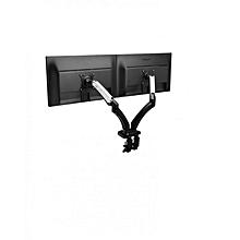 "F180 17"" - 27""  Dual Gas Strut Desktop Monitor - Black"