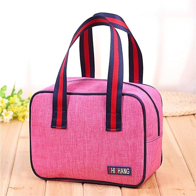 6th Rose Red Korean Cloth Handbag Casual Bag Handbags New Fashion Lunch