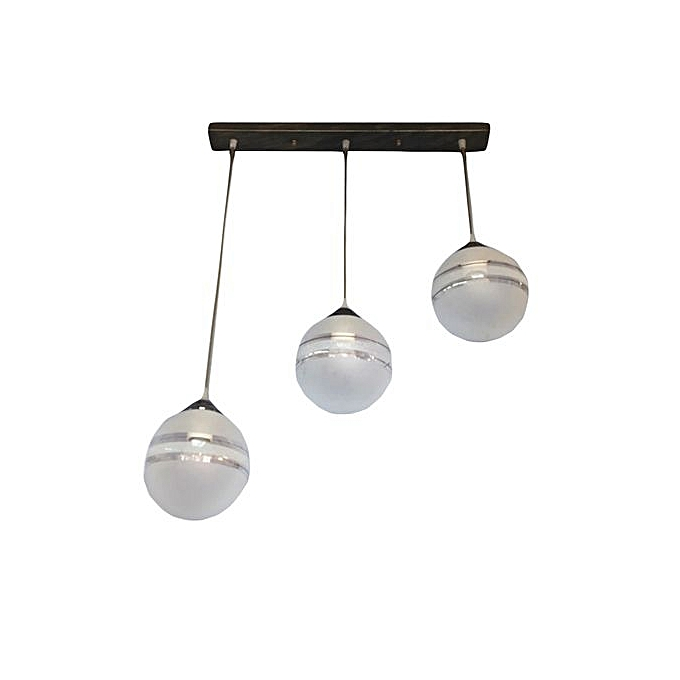 Kenya Lampshades Contemporary 3 Pendant Dining Light