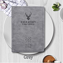 Vintage Deer Canvas Flip Pouch Casing Case Cover For Ipad 9.7 2017 / Ipad 9.7 2018 / Ipad Air 2 Mll-S