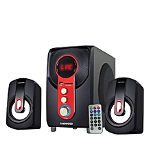 MP-60 Multimedia 2.1 Subwoofer With Bluetooth - Black