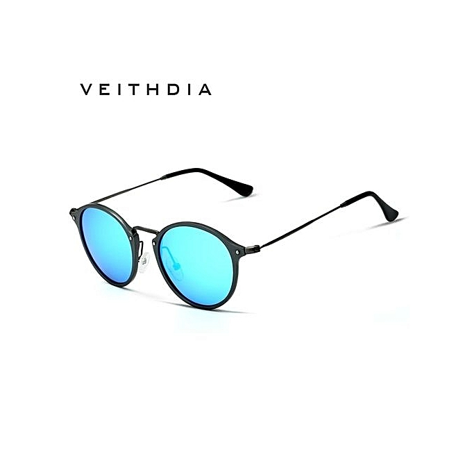 4102da4450a8 VEITHDIA Brand Fashion Unisex Sun Glasses Polarized Coating Mirror Driving  Sunglasses Round Male Eyewear For Men