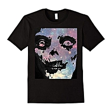 Zombie Skull Face. Mens Fashion Short Sleeved T-shirts Summer Funny Tee Shirt For Men