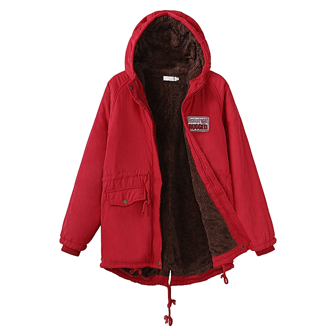 3b3adfe3ffb5 Fashion Casual Loose Women Pockets Zipper Fleece Long Sleeve Hooded ...