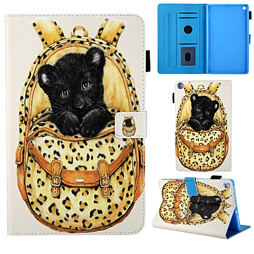 Amazon Kindle Fire HD 8 Case,PU Leather Smart Stand Case with Auto  Wake/Sleep Card Slot Case All-New Kindle Fire HD 8 Tablet (2018/2017/2016  Release,