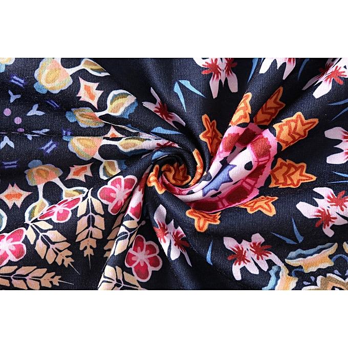 d9fb8ee047c41 ... Xiuxingzi Women Ladies Flowers Cold Shoulder T-Shirt Round Neck Tank  Casual Tops Blouse ...