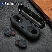 True Wireless Sport Earbuds Headset Bluetooth 5.0 HIFI In Ear Stereo Headphones