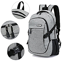 Grey Stylish Backpack