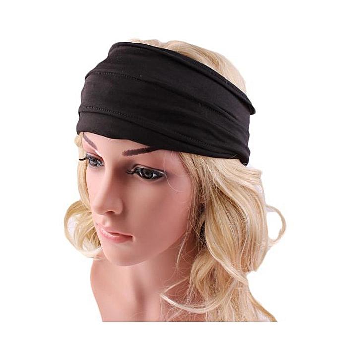 Buy Eissely Wide Headband Yoga Headband Boho Headband Running ... 7e26353cc61