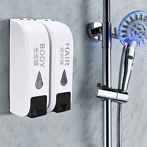 Buy UNIVERSAL 2x 350mL Wall Mounted Bathroom Shower Body Lotion ...