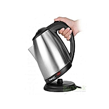 Cordless Electric Kettle - 2 Litres - Silver